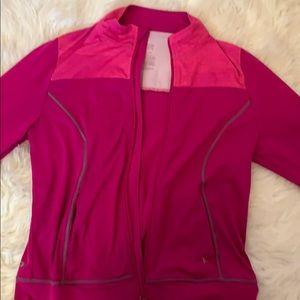 Sporty hot pink jacket